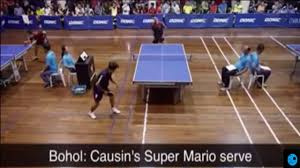 Extreme Ping Pong Funny Table Tennis Match Philippines Vs France Youtube