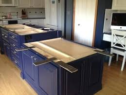 help w overhang support options countertop granite requirements kitchen island supports