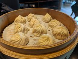 Soup dumplings from Din Tai Fung ...