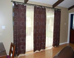 curtain rod for patio door patio door curtain rods with wooden pattern floor and 3 round curtains large size adjule curtain rod set for patio doors