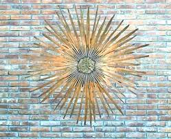 sun e wall art copper outdoor ceramic multi metal next innovations decor elegant hanging face pottery