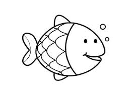 Fish shapes free printable templates coloring pages. Easy Color By Numbers Art Fish Printable Learn Numbers And Colors By Happy Kids