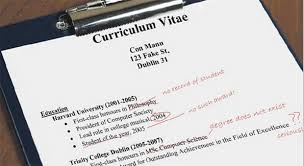 Have your CV spotless and easy to read.