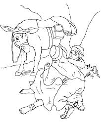 Good Samaritan Coloring Page Free Bible Coloring Pages The Good