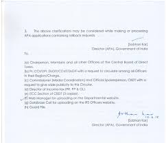 Circular No 102015 Fno 50072015 Apa Ii Government Of India