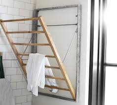 galvanized wall mount laundry drying