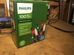 Philips 100 Green Mini Lights Philips 100 Mini Lights Red Green White For Sale Online Ebay