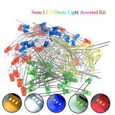 <b>5Colors*20PCS</b>=<b>100PCS</b> / <b>1Color=100pcs F3</b> 3mm LED Diode ...