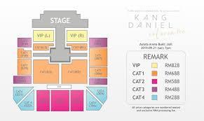 Kang Daniel Fan Meeting Color On Me In Kuala Lumpur Bukit