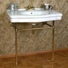 bathroom console sink sinks with metal legs table chrome emsg full size