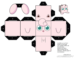 Pokemon Coloring Pages Jigglypuff Cubee Activity