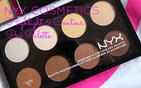 nyx cosmetics highlight and contour pro palette contour kit review