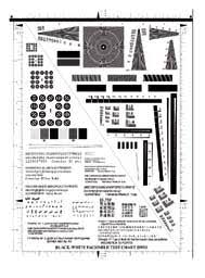 Test Chart No 4 Black And White Facsimile Test Chart Bw01