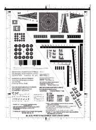 T Test Chart Test Chart No 4 Black And White Facsimile Test Chart Bw01