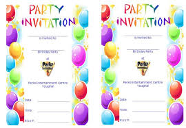 Party Template 40 Free Birthday Party Invitation Templates Template Lab