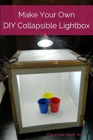 Foldable Light Box Diy Diy Collapsible Lightbox Elle Marie Home
