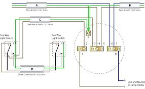 best of wire diagram ceiling light and ceiling rose wiring with two way switching new cable