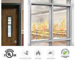 20 180 minute premium ed fire protective safety glass ceramic