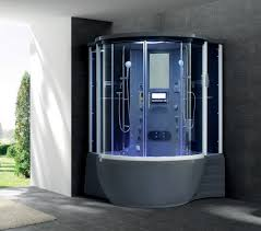 2016 luxury acrylic steam shower room with spa bathtub cabin shower g168 image