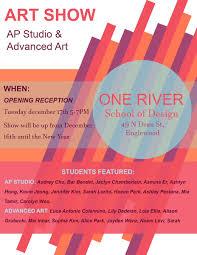 One River School Of Art Design Catherine Gelchinsky Cresskillhsart Twitter