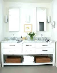 restoration hardware vanity mirror bathroom single sink