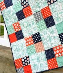 Very Easy Beginner Quilt Patterns Easy Quilts To Make Pinterest ... & Easy Quilts To Make For Beginners Easy Beginner Baby Quilt Patterns Freaky  Fast Four Patch Quilt Adamdwight.com