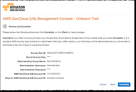 In Solution us - Reselling Guide A User Provider Aws Govcloud Onboarding As To