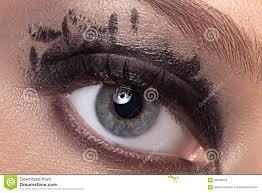 black eye makeup