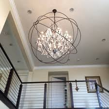 chandeliers crystal ball chandelier light round globe crystal chandelier crystal globe chandelier ballard designs orb