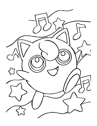 Pokemon Coloring Pages Free Music Coloring Pages Pokemon