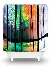 artistic shower curtains. Artistic Shower Curtains By DiaNoche DianocheDesignsDecor, $89.00. @OpenSky, #dianochedesigns, #homedecor, #art, #showercurtain, @DiaNoche Desi\u2026 A
