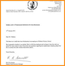 8 9 Employment Verification Letter For Visa Wear2014 Com