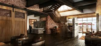 Industrial Building Lobby Space Apartments Pinterest More - Industrial apartment