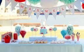 Redblueracecarfirstbirthdayparty  Birthday Party Ideas 1st Birthday Party Ideas Diy