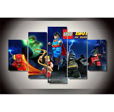 superman vs batman justice league wonder woman home decor hd
