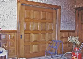 single pocket doors. fixing single pocket doors is no more complicated than moving pianos! what i meant to say is...there are many facets the work-so facets,