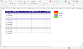Raci Chart Template Excel Create A Responsibility Assignment Matrix Raci Chart That