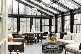 Inside sunrooms Relaxing Kathy Kuo Home Sunroom Omegapurecom 10 Stunning Sunroom Ideas And Tips To Light Up Your Home Kathy Kuo