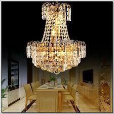 prompt royal empire gold crystal chandelier light french crystal lights