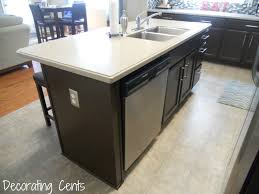 Kitchen Island Outlet Electrical Outlet Next To Dishwasher Countertop Appliance