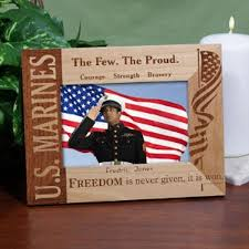 personalized marine corps picture frame picture 1 2