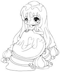 Coloring Pages Chibi Printable Fairy Coloring Pages Anime Fairy