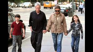 Christmas is a family holiday. Catherine Zeta Jones And Her Husband Michael Douglas And Her Children Youtube