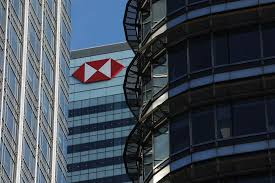 the hsbc holdings plc headquarters in london