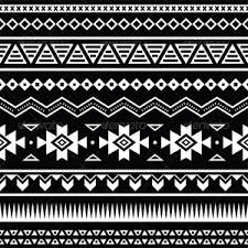 Small Picture Abstract Coloring Pages Aztec Pattern Black And White Polyvore