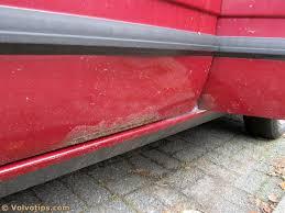 volvo 740 760 780 buyers guide volvotips volvo 740 760 rust underside bottom door
