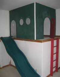 the cool indoor child s playhouse plan