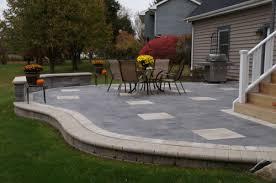 Brick Paver Patios Driveways Cal Shans Landscape Design Inc