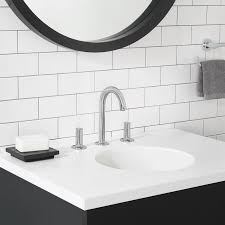 studio s 8 widespread bathroom faucet with drain assembly