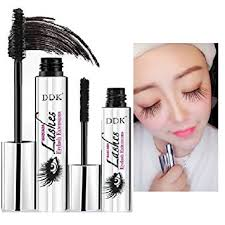 amazon ddk 4d mascara cream makeup lash cold waterproof mascara eye black eyelash extension crazy long style warm water washable mascara beauty